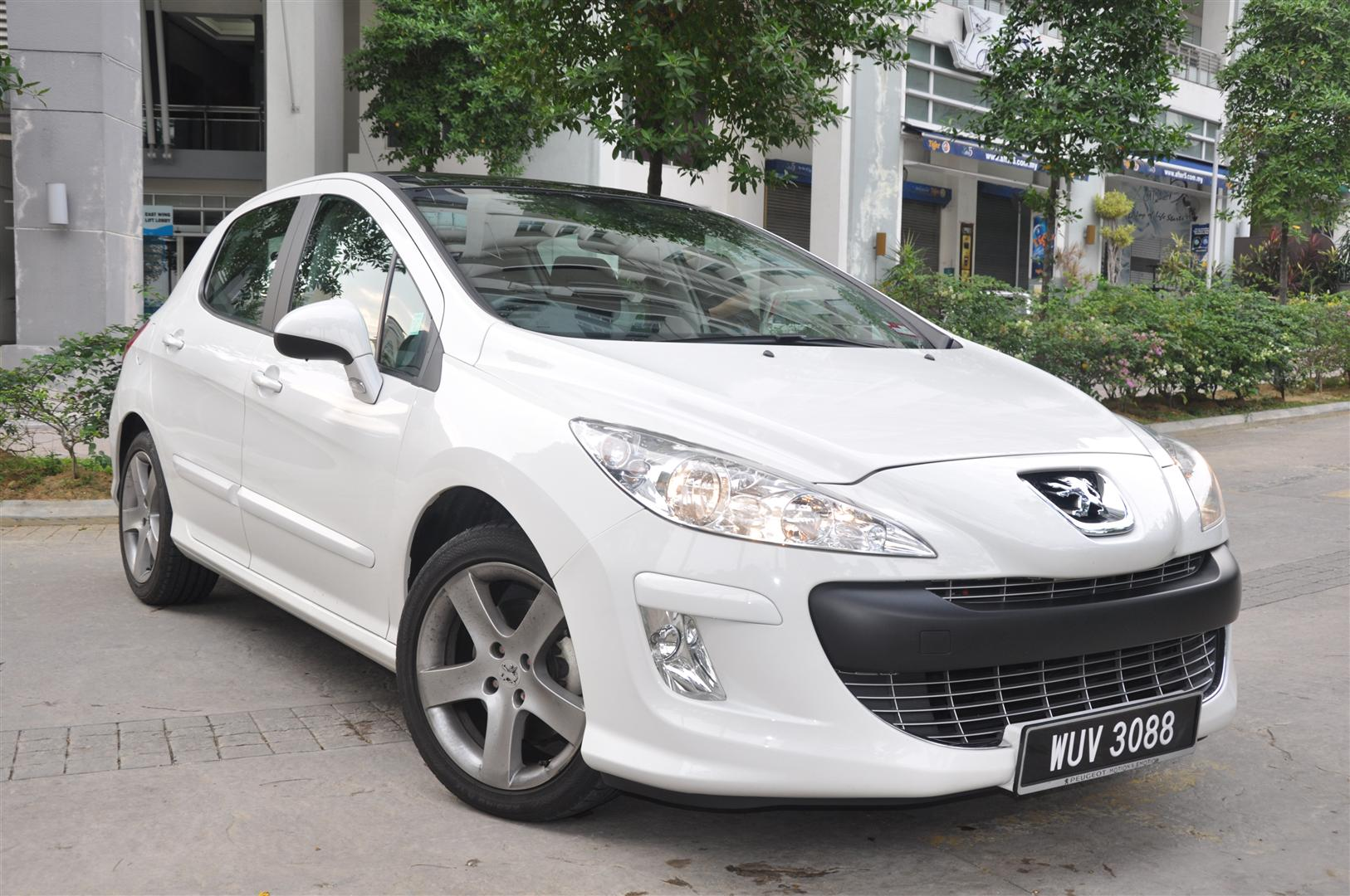 review: 2011 peugeot 308 turbo - wemotor