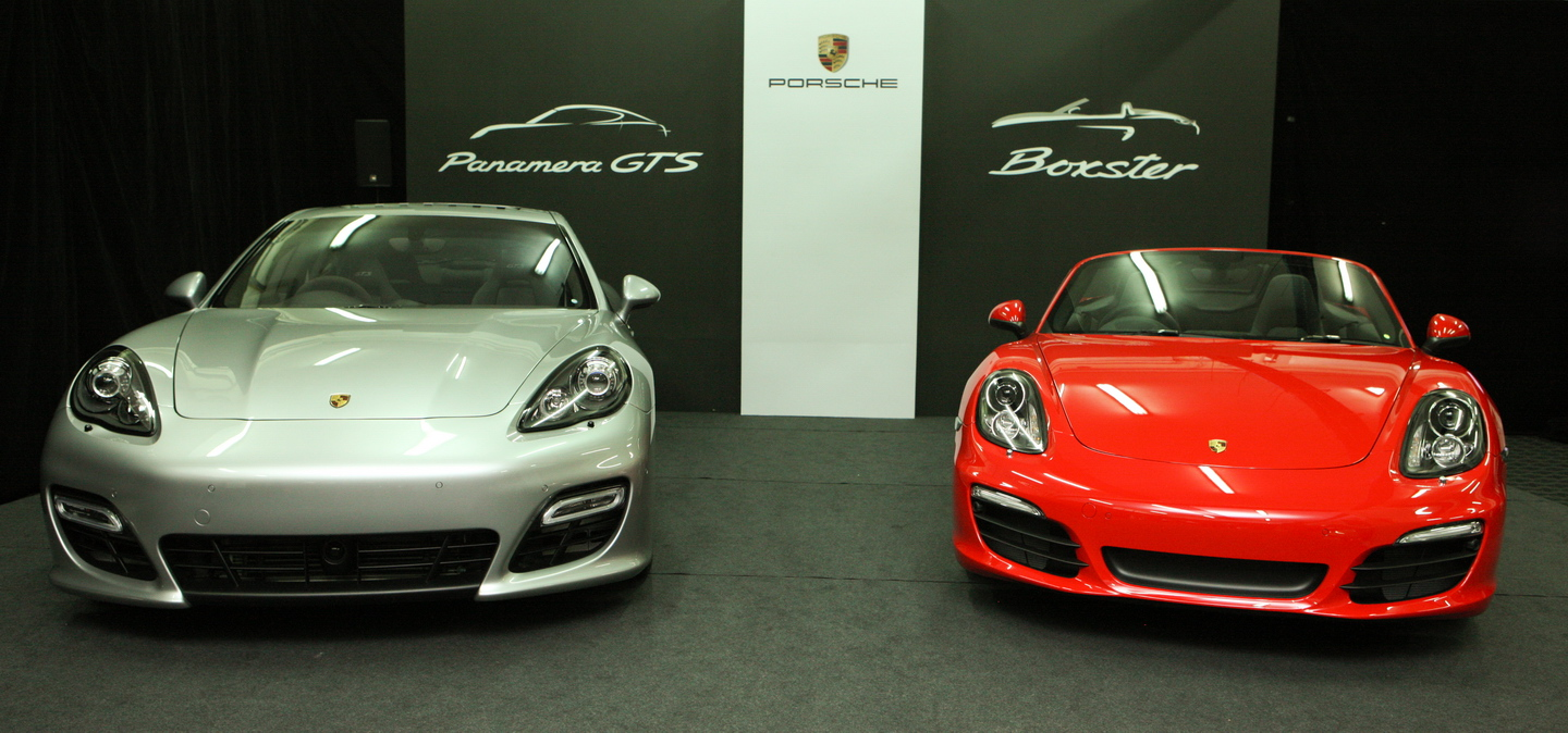 All New Porsche Panamera Gts Boxter Launched In Malaysia Wemotor Com