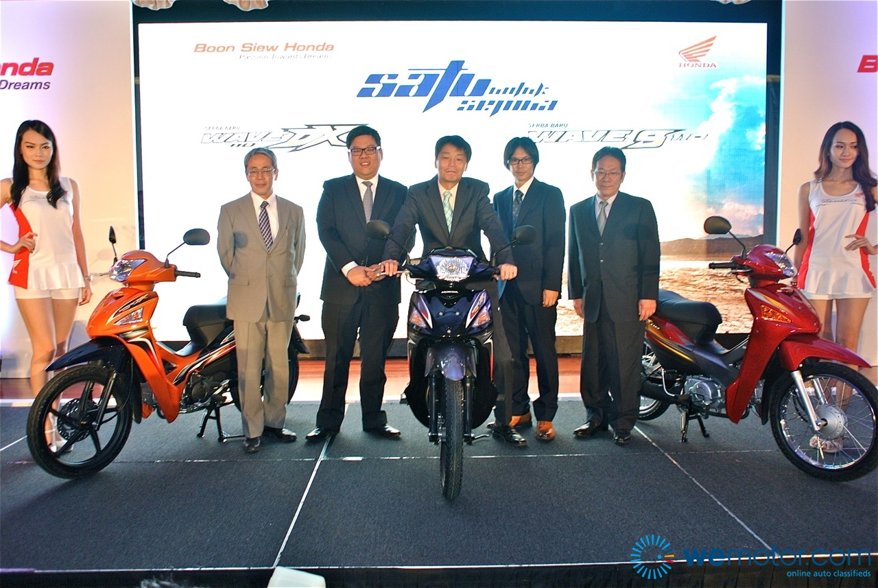 2013 Honda Wave 110 Launch 004