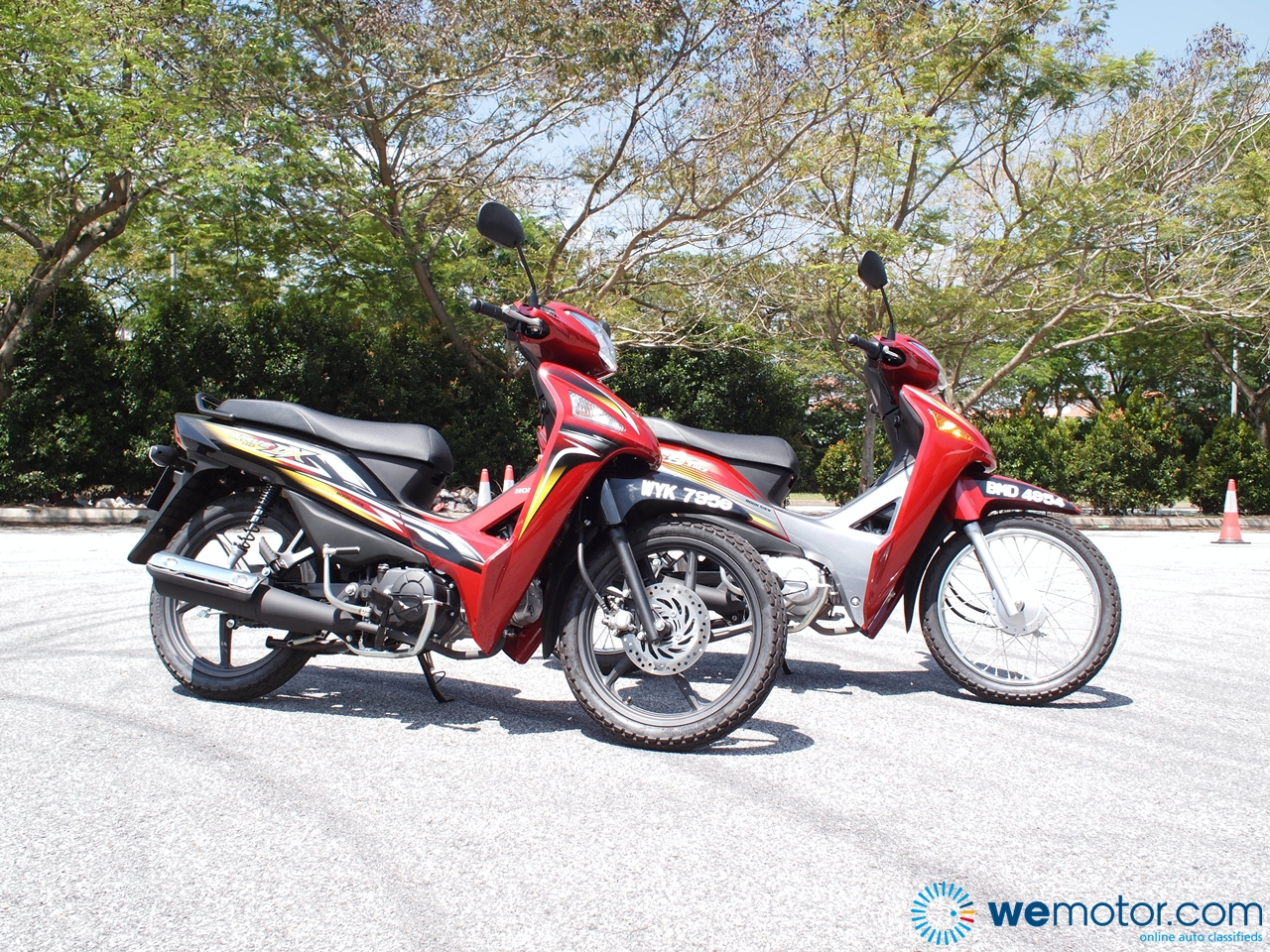 2013 Honda Wave 110 DX Test Ride 035