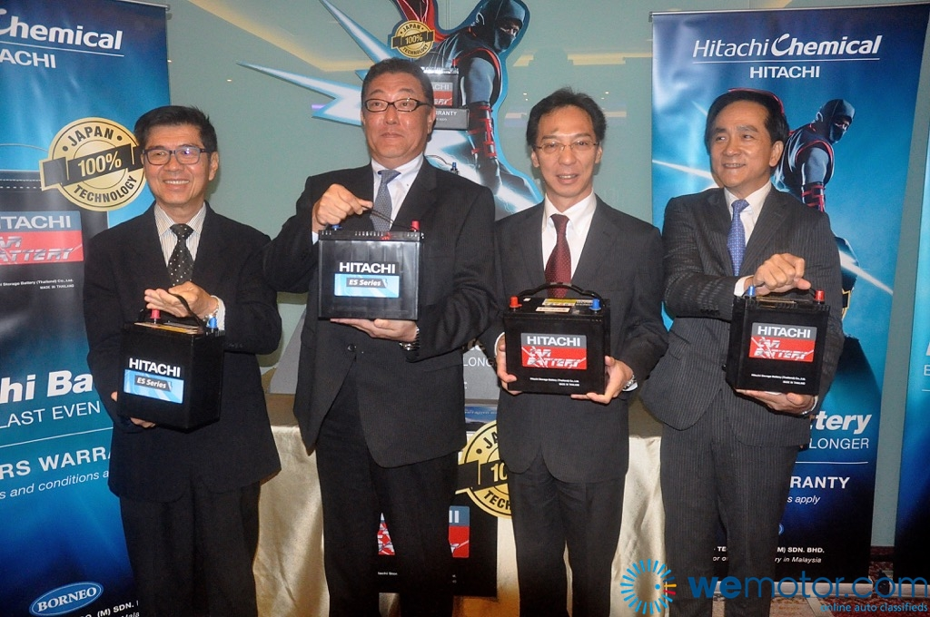 Hitachi Launches New Automotive Battery For Malaysian Market